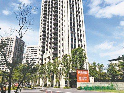 台北市豪宅「敦南寓邸」出現多件成交案例,今年4月最新交易總價約2億元。 本報系資...