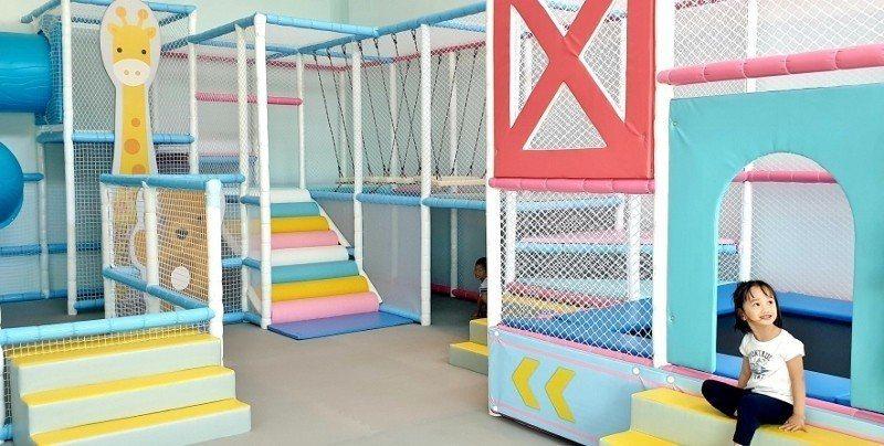 適合3歲以上的兒童遊戲空間。 徐谷楨/攝影