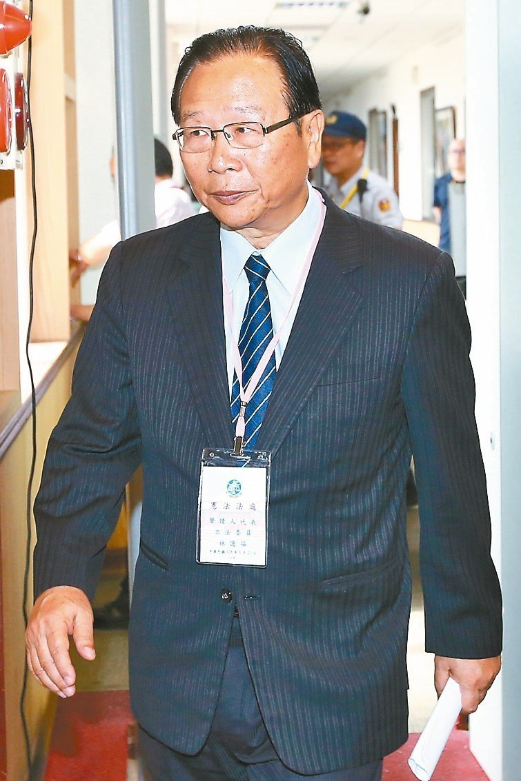 立法委員林德福 聯合報記者王騰毅/攝影