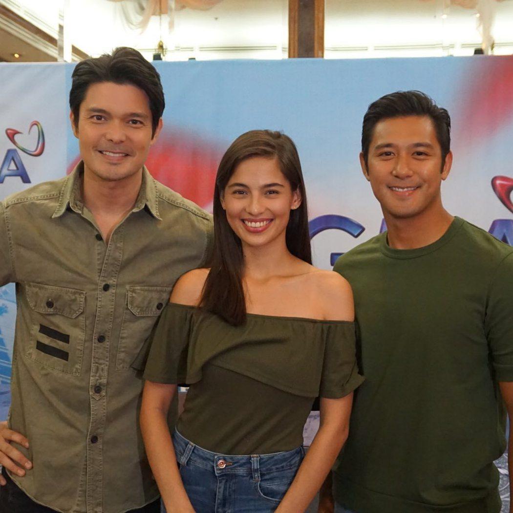 菲律賓版《太陽的後裔》角色曝光,左起Dingdong與Jasmine及Rocco...