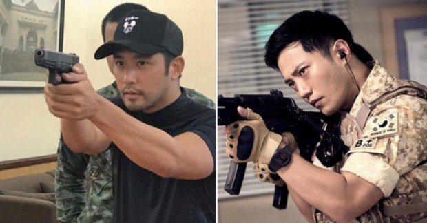 Rocco飾演菲律賓版《太陽的後裔》晉久角色。圖/擷自inquirer.net。