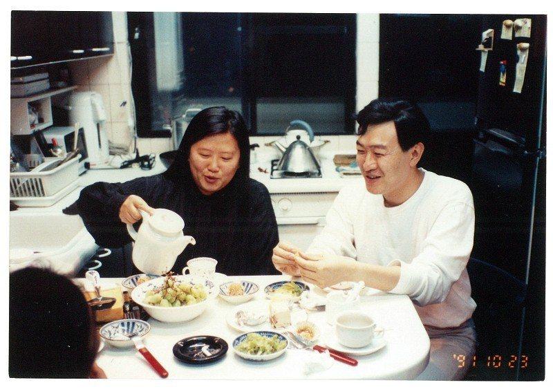 朱全斌和韓良露是朋友眼中的「神仙眷侶」。(圖片來源/朱全斌提供)