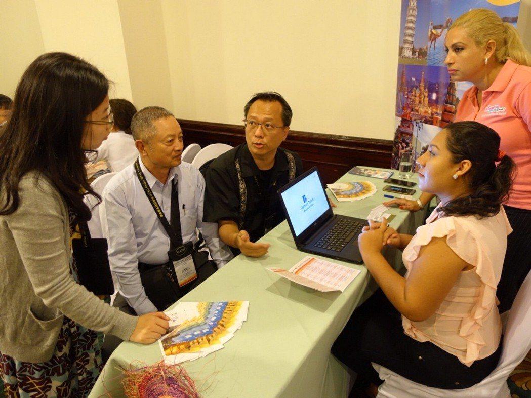 尼加拉瓜旅遊商機洽談會,為台灣與當地旅遊業界提供一個有效的溝通平台。業者/提供