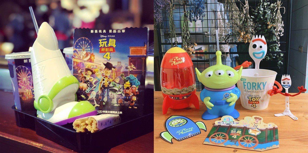 《玩具總動員4》周邊。 圖片來源/instagram@ck0716、instag...