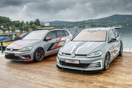 Volkswagen發表最新3D投影技術 Golf GTI Aurora、FighteR 出席GTI盛會!