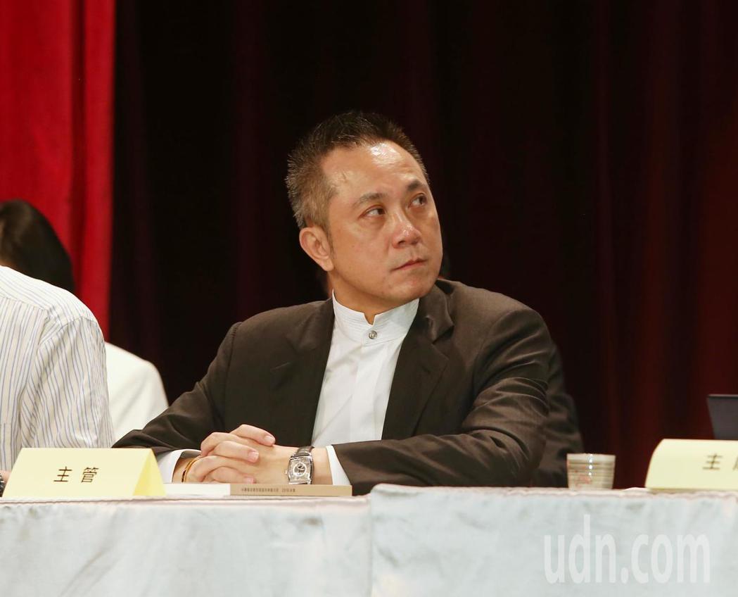 永豐餘上午舉行股東會,新任總經理蔡維力出席。記者曾原信/攝影