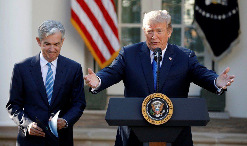 川普再度表示,自己有權撤換Fed主席。 路透