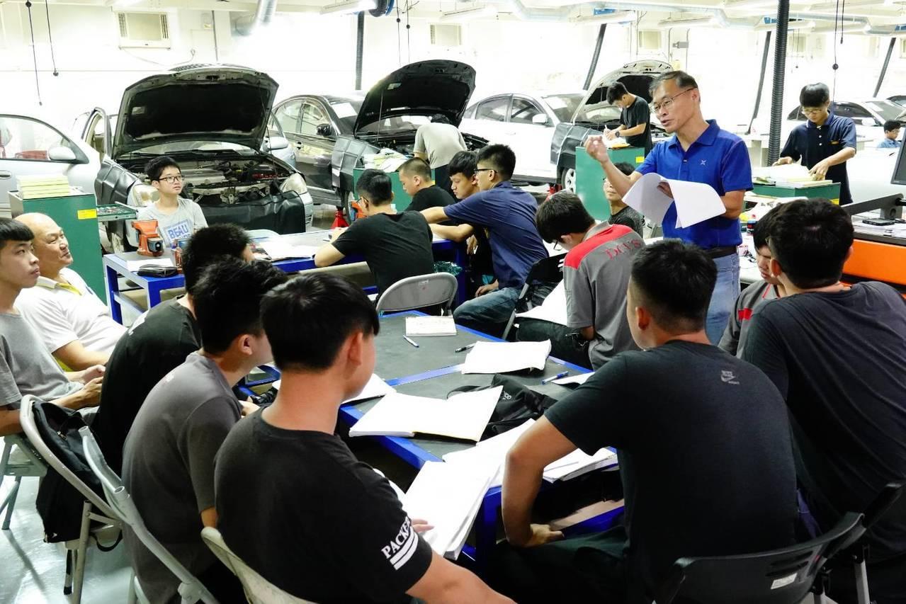 台中市修平科技大學提供與產業接軌密切的學習課程,方便未來就業。圖/修平科技大學提...