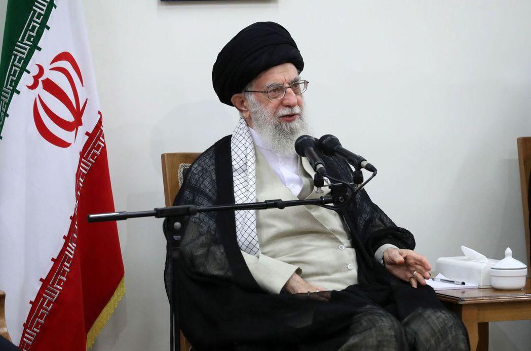 伊朗最高領導人哈米尼 歐新社