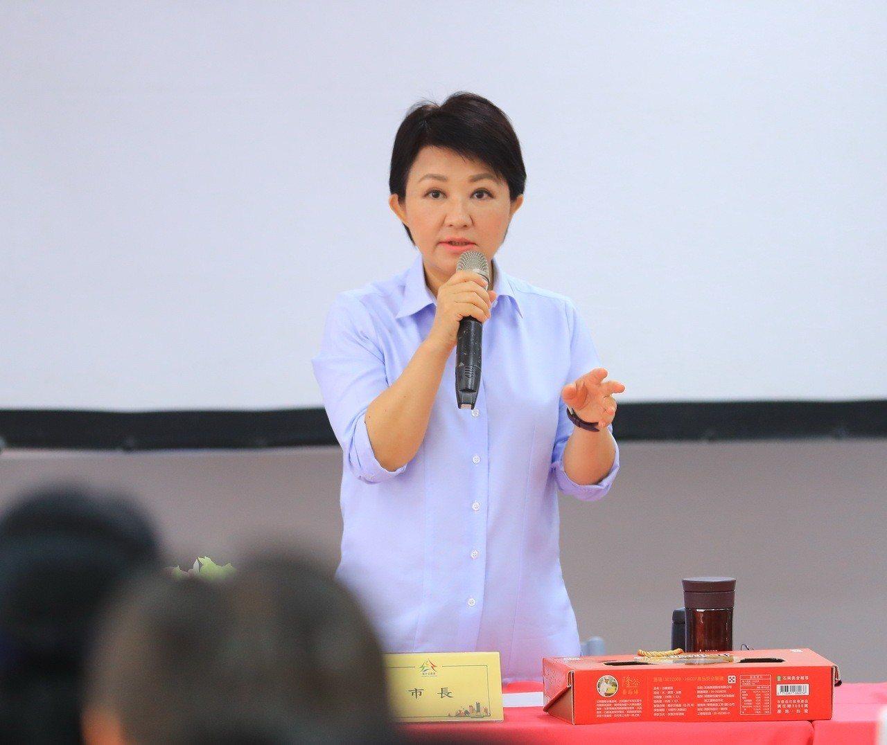 台中市長盧秀燕今早說,台中市去年上繳中央的稅收近1400億元,留在地方的不到10...