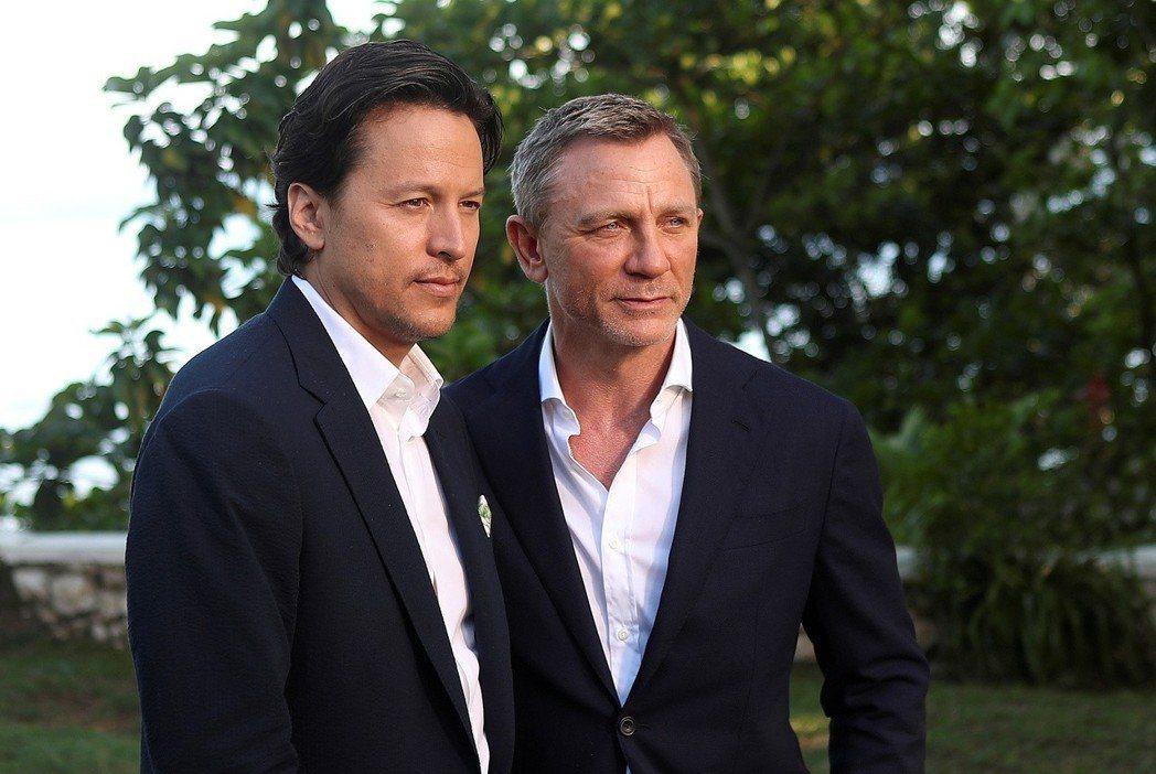 導演凱瑞福永(左)與丹尼爾克雷格曾經為了拍攝上的意見不同。 圖/路透資料照片