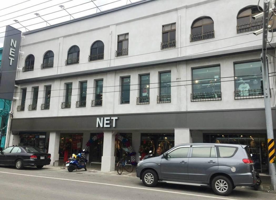 NET日前在台南善化開出新門市,是利用當地40年的老醫院改建而成。圖/摘自NET...