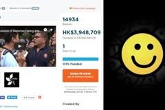 一天募到400萬港幣 網民眾籌反送中上全球頭版