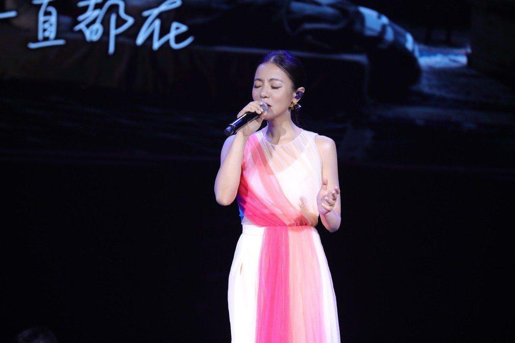丁噹在家鄉杭州開唱。圖/相信音樂提供
