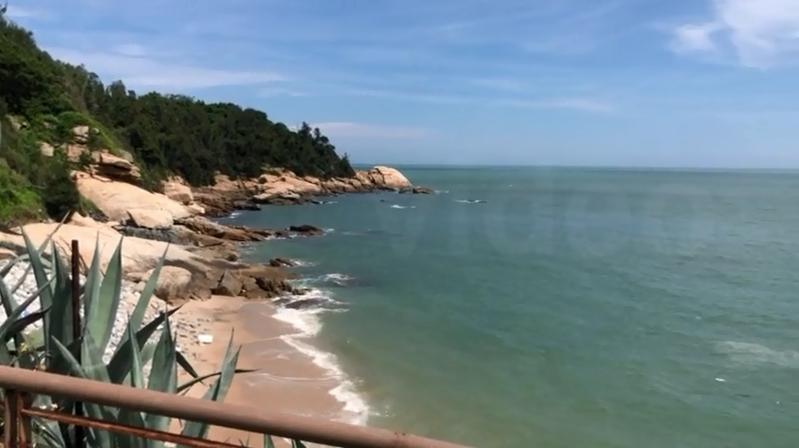 翟山坑道觀海步道。記者曹悅華/攝影