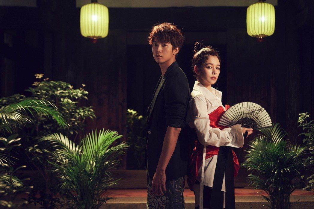 許書豪歌曲「但願人長久」邀來徐若瑄跨刀合唱。圖/上行娛樂提供