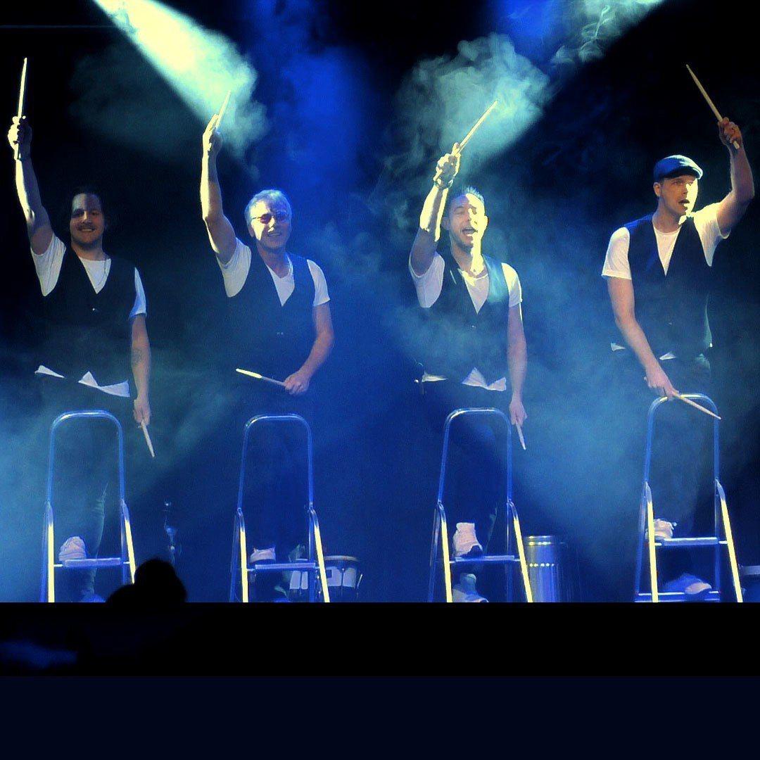 宜蘭童玩節今年夜間加碼國內外專業特色團隊專場演出,圖為德國POWER破銅爛鐵秀。...