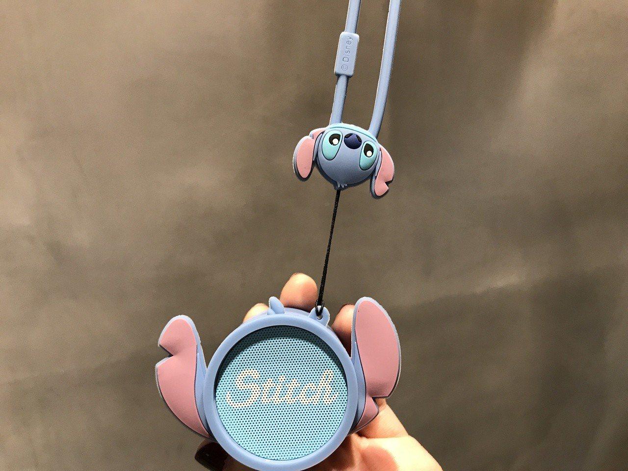 史迪奇造型輕巧藍芽喇叭市價1,980元,6/26~7/2加購價626元。記者江佩...