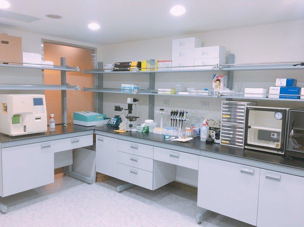 麗寶生醫醫檢所環境。麗寶/提供