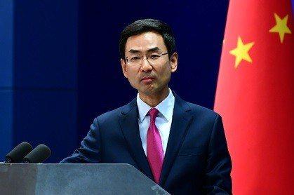 中共外交部發言人耿爽表示,中共反對美國的長臂管轄。(中共外交部官網)