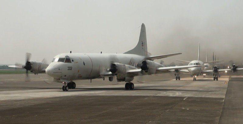 P-3C反潛機。記者洪哲政╱攝影