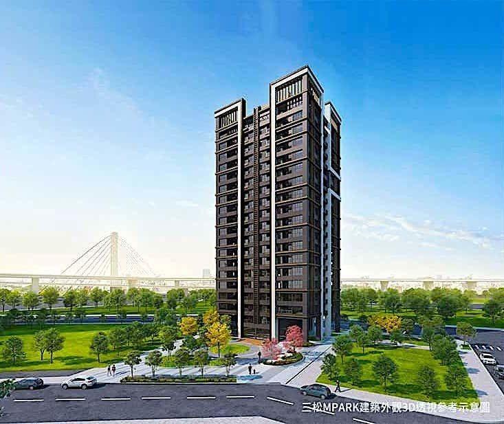 新建案「三松MPARK」主打純正日系血統住宅。圖/取自聯碩地產行銷團隊官網