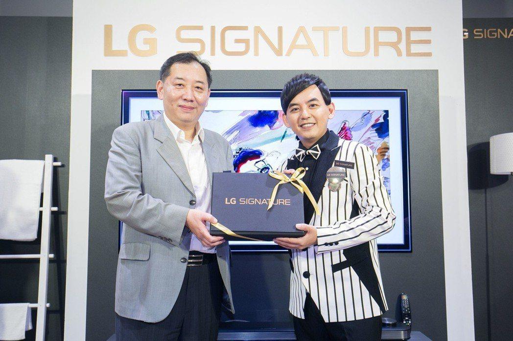 LG邀請黃子佼現身LG SIGNATURE Dream Home,分享打造夢想之...
