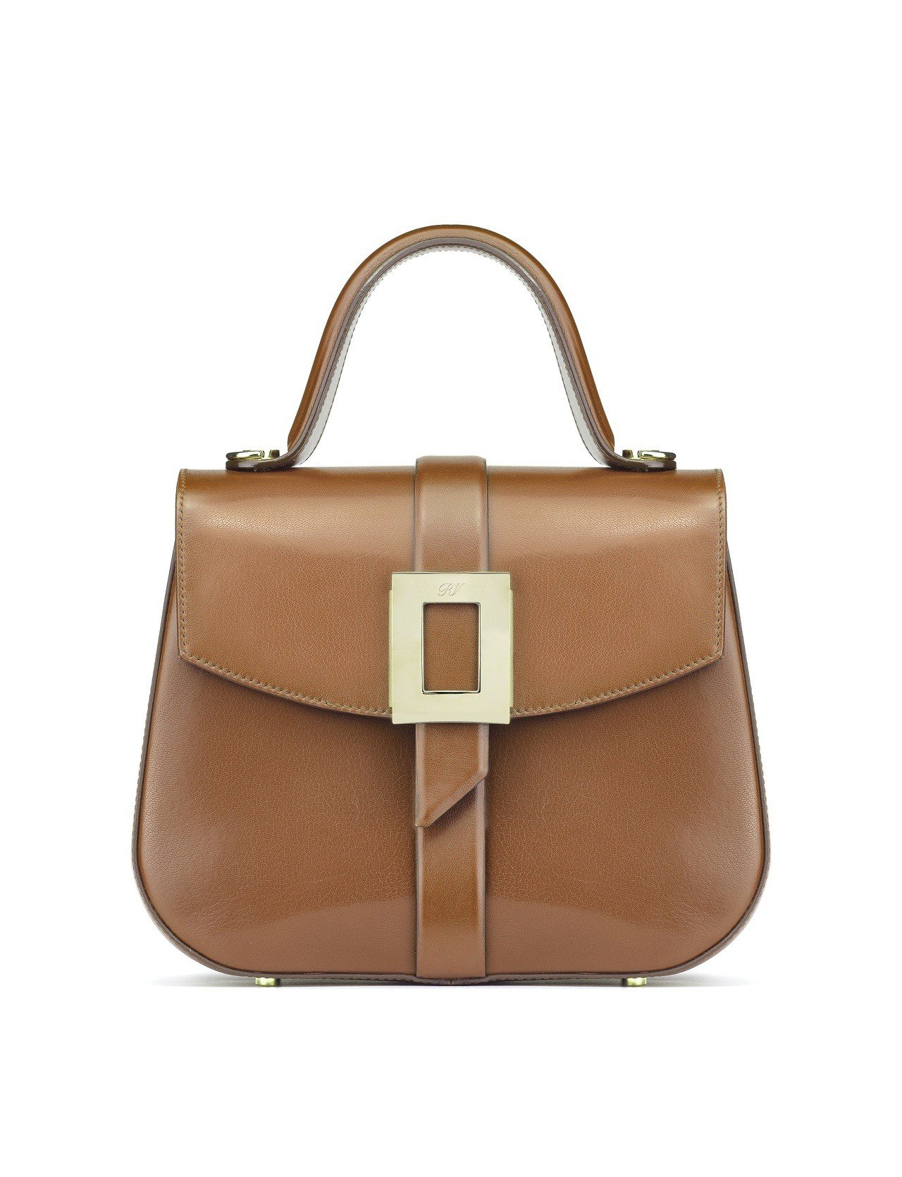 Roger Vivier Beau Vivier牛皮手提包,售價11萬元。圖/R...