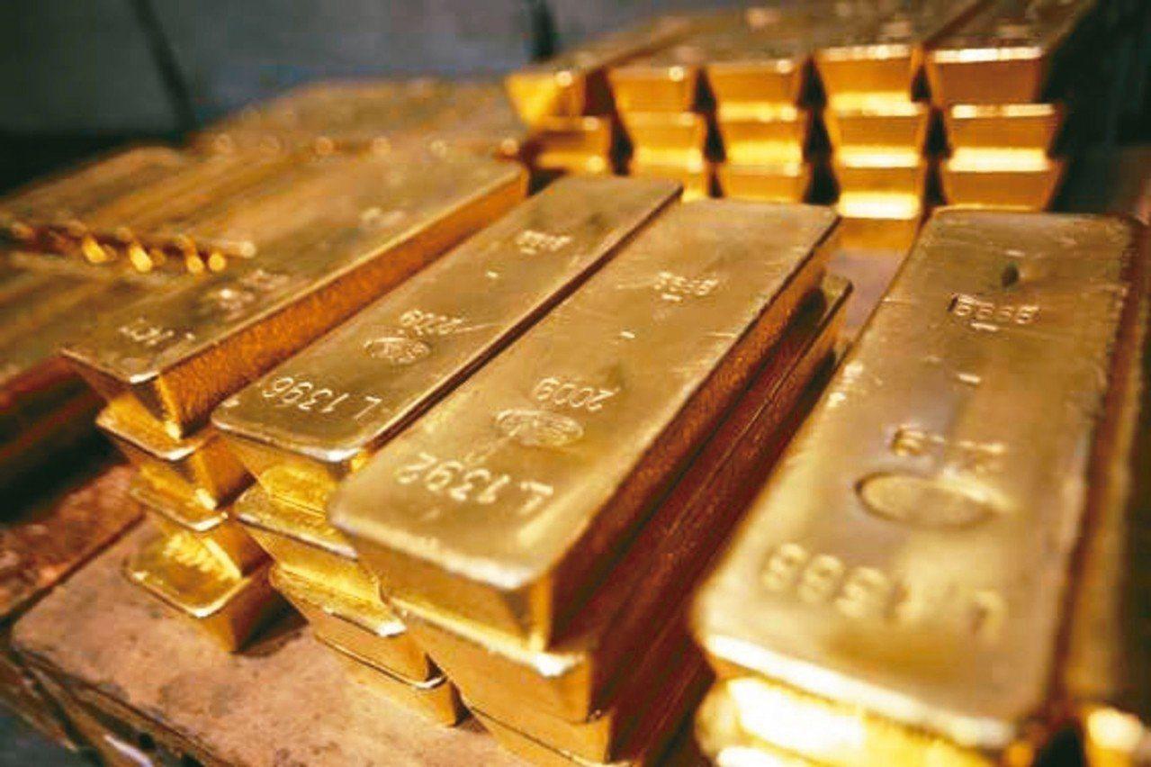 黃金示意圖。報系資料照