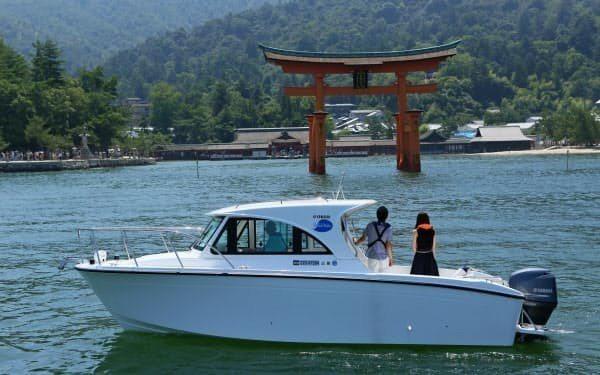 瀨戶內海的居民及觀光客今年夏天將可以透過智慧手機叫船。取自P.G. System...