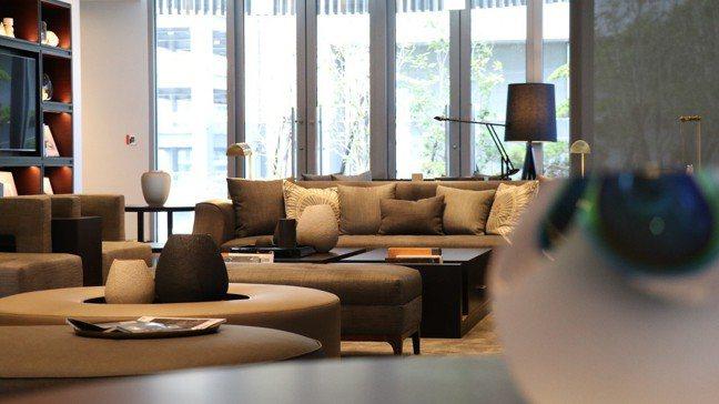 林口亞昕福朋喜來登酒店的總統套房,一樓的宴會空間。報系資料照