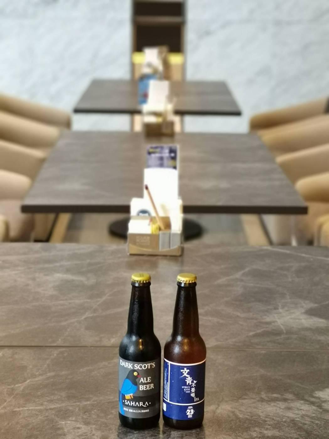 林口亞昕福朋喜來登酒店一樓的「精釀吧」,特地引進23號精釀啤酒,體驗不同啤酒花的...