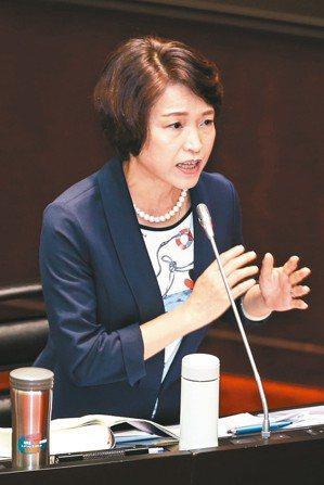 立法院昨審查大法官提名人,被提名人蔡宗珍接受立委質詢。 記者林伯東/攝影