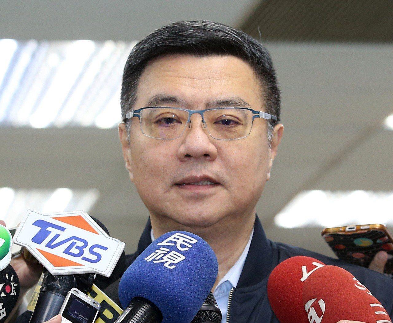民進黨主席卓榮泰。聯合報系資料照片/記者林澔一攝影