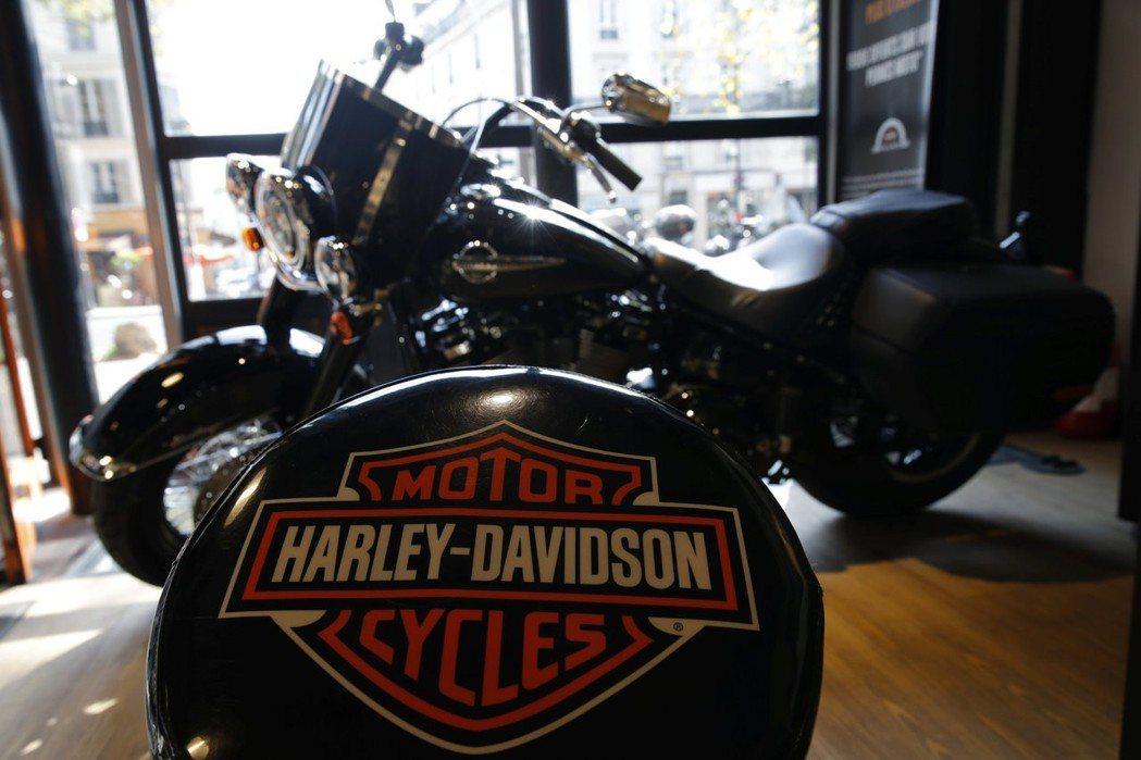 美國摩托車企業哈雷去年最後一季淨利受貿易戰影響而大減。 (路透)