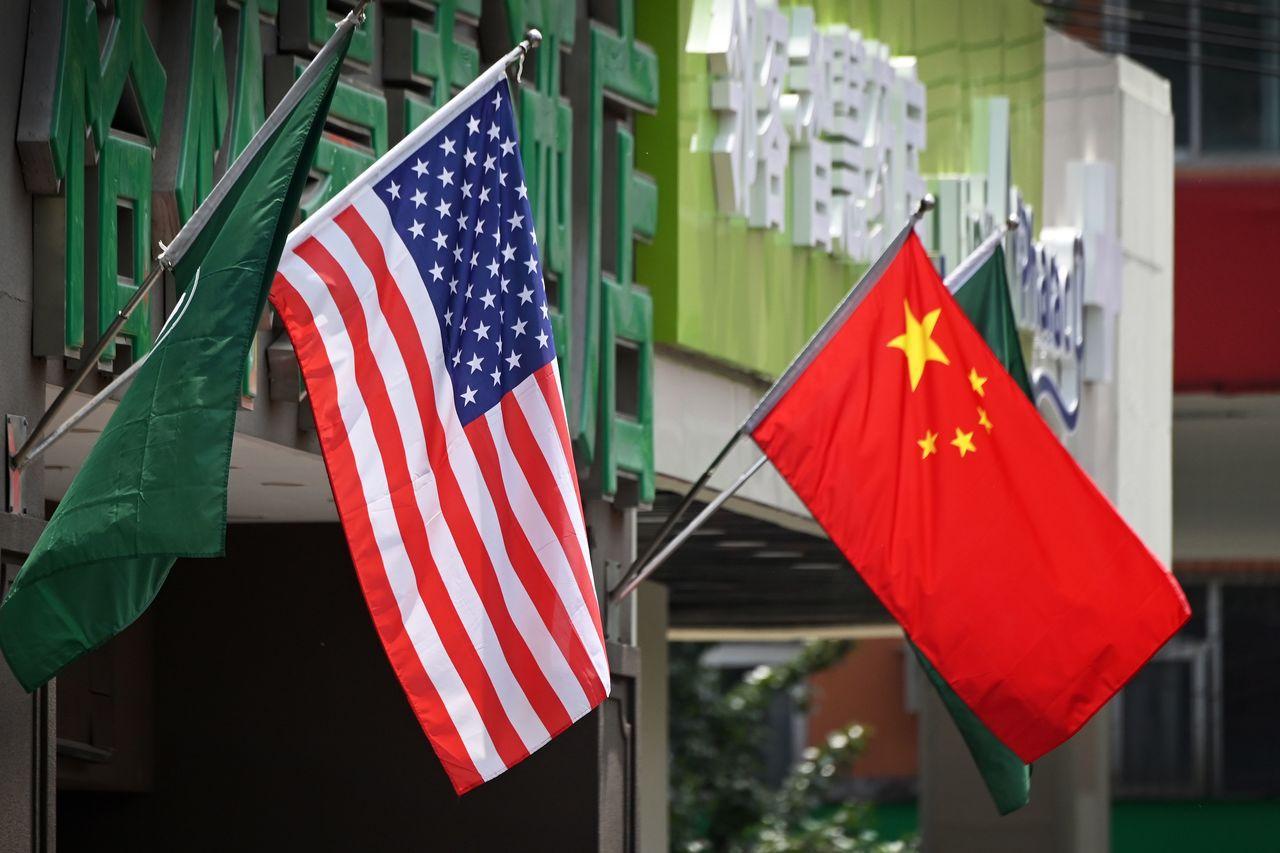 美中貿易戰打打停停迄今已超過一年。 (法新社)