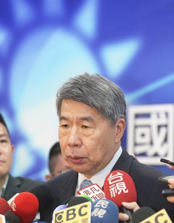 國政願景政見會後,張亞平受訪。 圖/聯合報系資料照片