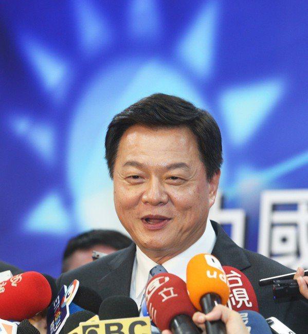國政願景政見會後,周錫瑋受訪。 圖/聯合報系資料照片