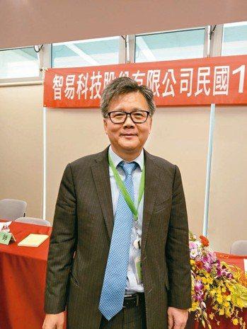 智易總經理曾釗鵬 記者黃晶琳/攝影