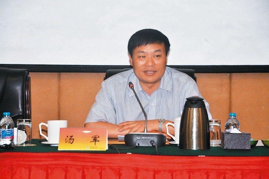 中國機電產品進出口商會副會長湯軍,將任中國機電產品進出口商會台北辦事處主任。 網...