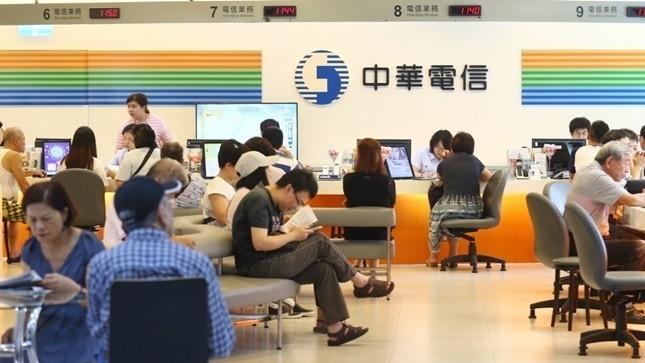 圖為中華電信門市。 報系資料照