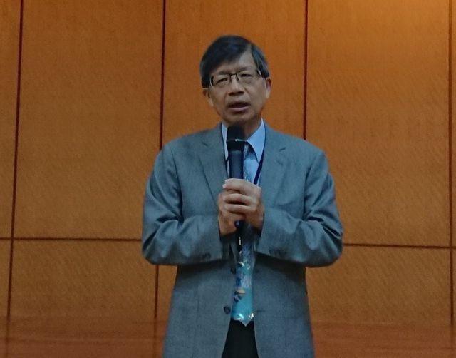 中華民國鋼結構協會理事長、台灣世曦工程顧問公司總經理王炤烈在大會致詞。     ...