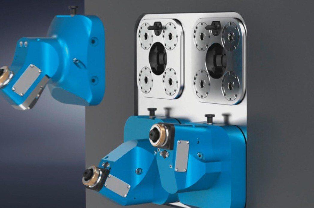 SPN112產品可快速更換治具與工具,並具有高定位精度可節省調整時間。 極馬亞洲...