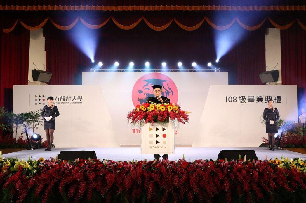 東方設計大學代理校長劉光盛。 東方/提供