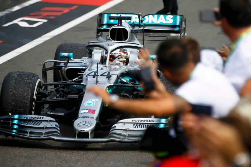 F1/法國站Mercedes再度展現火力 持續霸佔頒獎台!