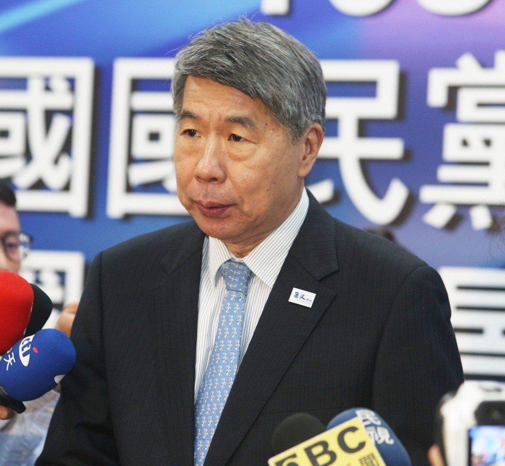 張亞中以學者身分參加國民黨總統初選發表會。記者劉學聖/攝影