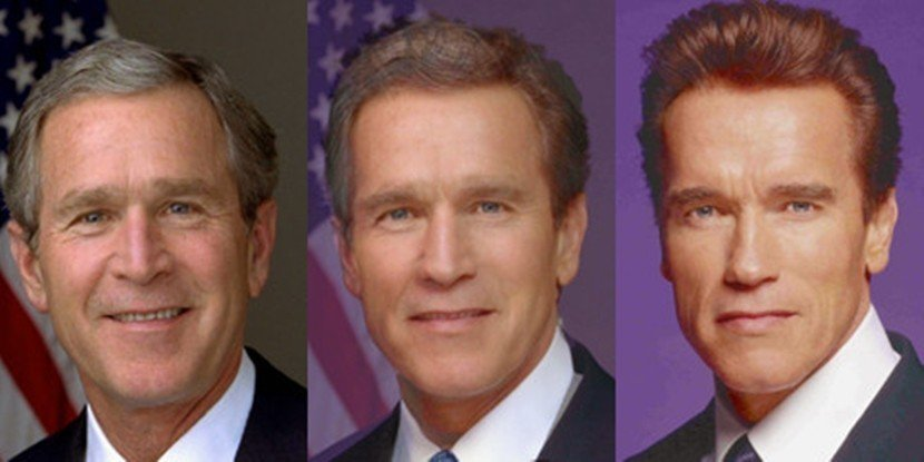 有心人士利用「臉部合成」(Morphing)技術,使用兩張不同人的照片,透過複雜...