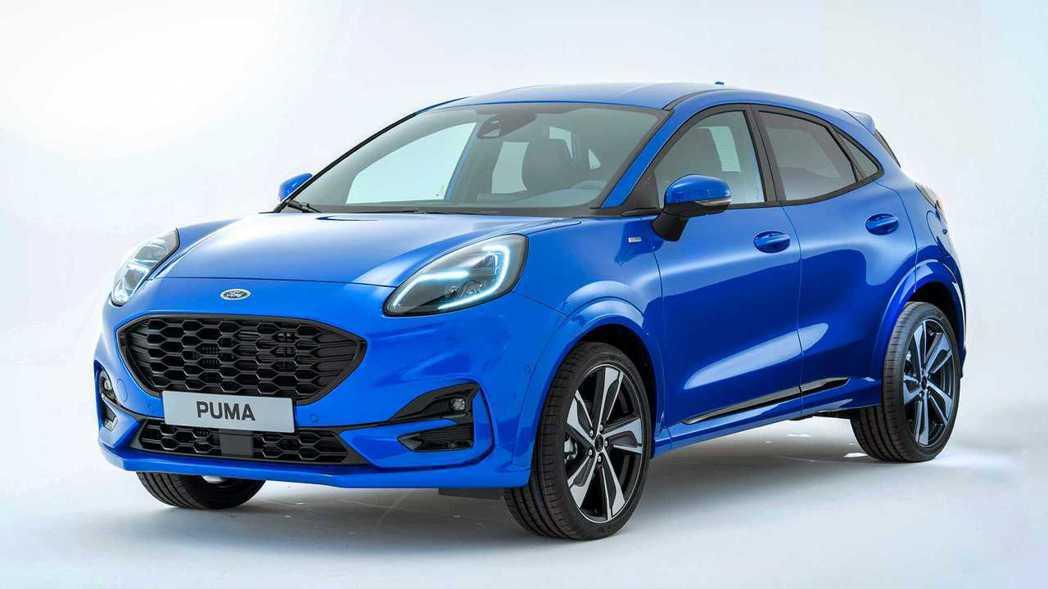 Ford為Puma提供了ST-Line與Titanium兩種車型,圖為Puma ...