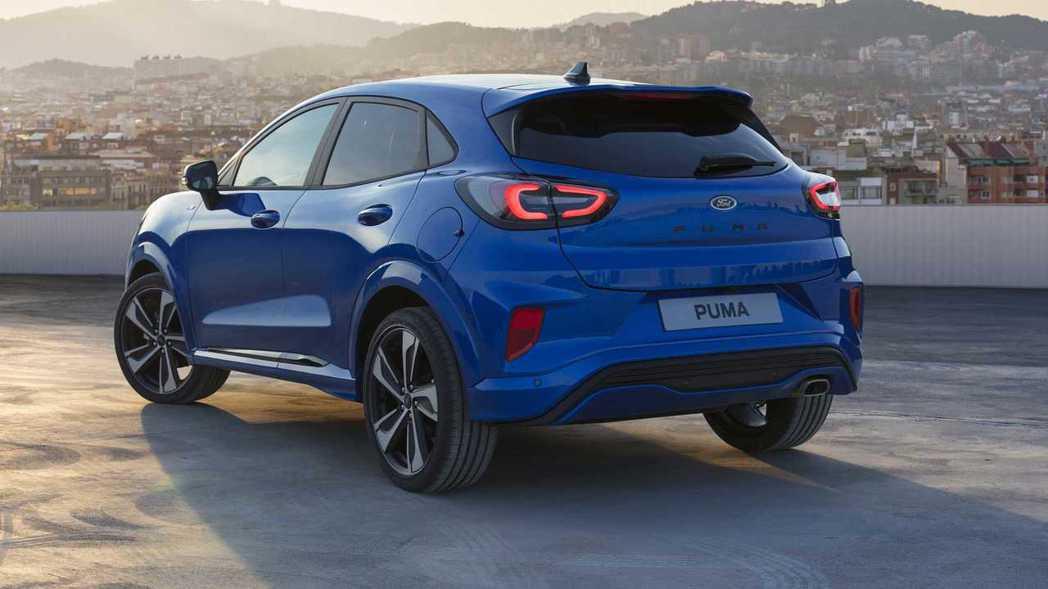 Ford Puma搭載結合Ford最新的48V Mild-Hybrid輕油電混合...
