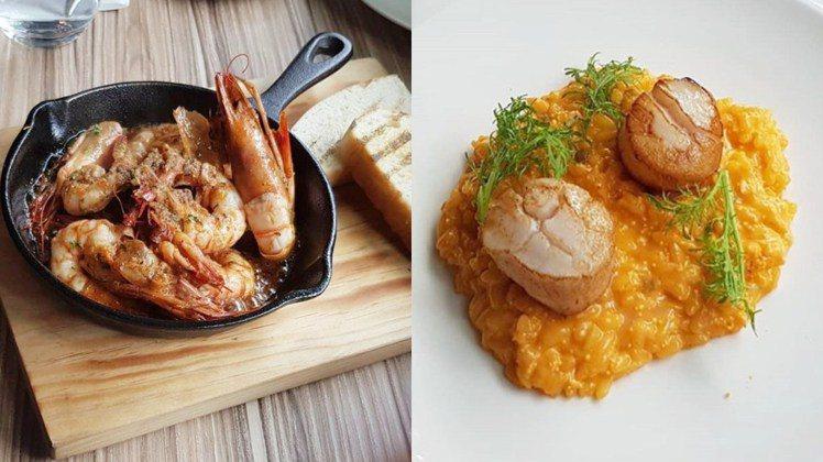「大蒜蝦」也是編輯很愛的一道菜,香鹹的大蒜蝦配上麵包簡直人間天堂。圖/女子學提供